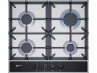 BRAND NEW Neff T26DA49N0 75cm 4 Burner Gas Hob - Stainless Steel