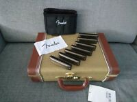 Fender John Popper Signature Harmonica Set of 7 in Tweed Case (0990705049)
