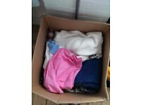 Bundle of 50ish items of Men and Womens Clothes- perfect for car boot