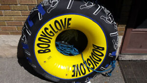 BodyGlove Water Ski Tube 4ft with 50ft rope Brand New