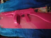 PINK GANGSTER TOMMY GUN FANCY DRESS PARTY OR HEN DO BRND NEW
