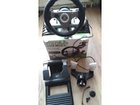 Xbox360 MadCatz Wirelles Racing Wheel
