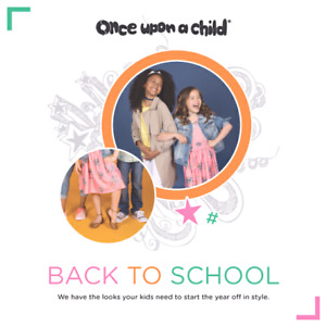 Back to school for less!