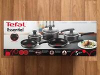 Tefal pot and pan set brand new unopened