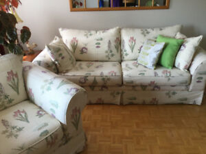 Living Room Set - Love Seat and Couch