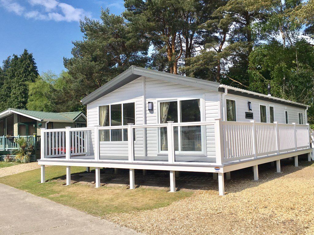 New 2017 Willerby Holiday Lodge near Poole and Bournemouth. 3bed