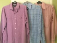 Lacoste , Ralph Lauren shirts. 3 for £20