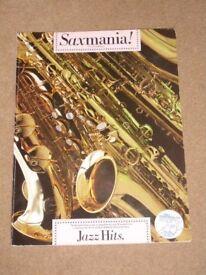 Saxmania! Jazz Hits for saxophone book