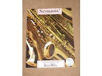Saxmania! Jazz Hits for saxophone book