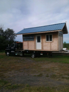Play house & shed moving and hauling