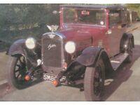 Austin Heavy 12/4 2-Door Coupe 1929