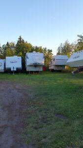 Camera Monitored RV/Boat/Car/Truck/Trailer Storage In Edmonton