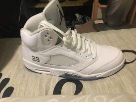 Brand new & Unworn Jordan Retro 5 UK Size 13