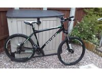 Carrera vulcan mountain bike