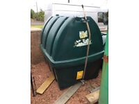 Oil tank 1300 litre single skin other tanks availible can be delivered
