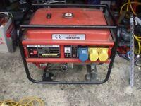 6500w 110v 230v Dual Voltage Petrol Engine