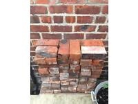 Reclaimed and cleaned Victorian bricks x 60