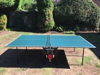Butterfly Table Tennis Table Full Size- Rollaway