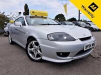 2005 HYUNDAI S-COUPE 2.0 SE 3D 141 BHP! P/X WELCOME! ELEC S-ROOF! LEATHER! FDH!