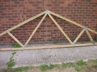 Roof Trusses - Ideal for Home Extension, Garage, Outbuilding, Stable Block etc.