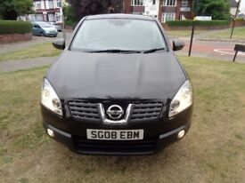 2008 Nissan Qashqai 1.5 dCi Acenta 2WD 5dr [PARK AID+PHONE+CAMBELT+1 OWNER+FSH+WARRANTY]