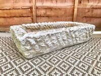 Composite Stone Garden Planter #371