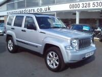 2009 Jeep Cherokee 2.8 CRD Limited 5dr Auto 5 door Estate