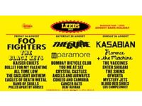 Leeds Festival 2 x weekend camping tickets for sale