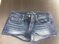 American Eagle Women Denim Shorts Size 8