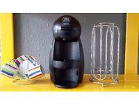Krups Kp100040 Piccolo Dolce Gusto Capsule Coffee Machine, Black