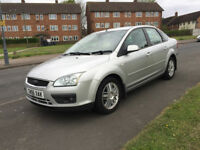 2006 Ford Focus 1.8 Turbo Diesel Saloon Ghai Leather Full Spec leather, Rear Saloon