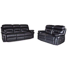 Genuine Leather/Air leather  Recliner sofa set 3+2+1