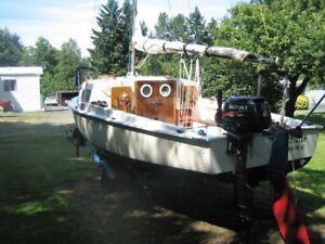 """""""16ft"""" Sailboat"""