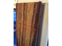 2 pairs of curtains in immaculate condition.