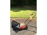 Lawn racker - black and decker - electric