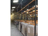 JOB LOT dexion type industrial pallet racking ( storage , industrial shelving )