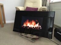 LCD Electric wall mounted Fire