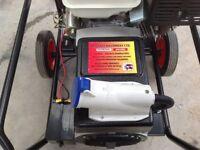 9000 watt Petrol Generator electric start for Food , burger chip van outside catering