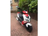 (2017 LINTEX FEVER 125cc / 1 OWNER / LOW MILEAGE / GOOD WORKING / LONG MOT / £949