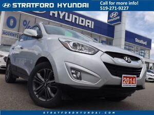 2014 Hyundai Tucson GLS | 1 OWNER | NO ACCIDENTS | SUNROOF |