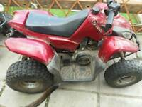 Grandsons quad up for grabs out grown it needs av2 wheeler 65cc whats about