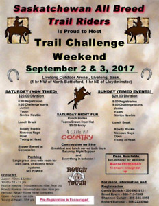 Saskatchewan All Breed Trail Riders