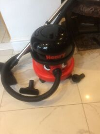 Henry 1400W 1 year guarantee isn't Dyson or vax