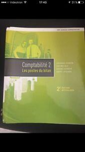 Comptabilité 2 Les postes du bilan (neuf jamais utilisé)