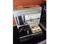 boxed ps3 with controller and game please read listing