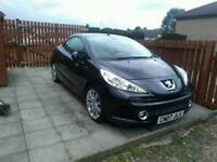 Peugeot 207cc GT turbo 1.6 16valve convertible (2007)model (55000)miles from new