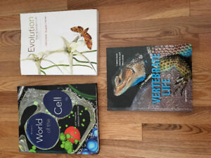 MUN Textbooks for sale: Biology and Film