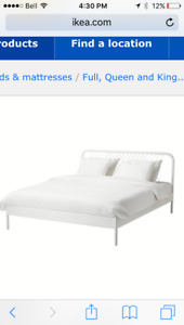 IKEA bed frame (double/full) $120.00