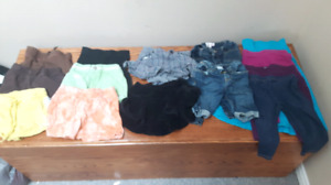 Girls 3t shorts, capris and skirts