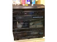 Hi fi record player with cd